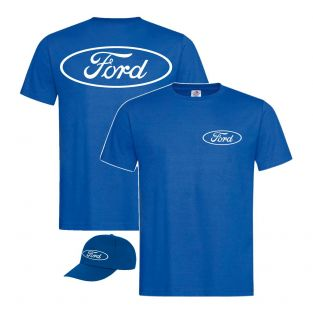 Heren cap met T-shirt Ford