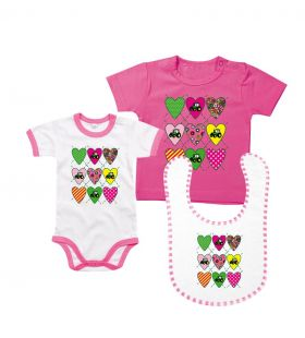 TS Love Tractor Pink