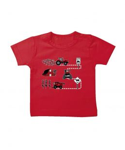 TS Baby Case T-shirt Caution