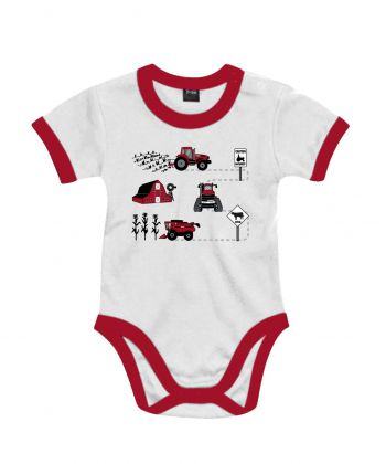 TS Baby Romper Case Caution