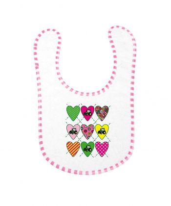 TS Baby Slabber Love Tractor Pink