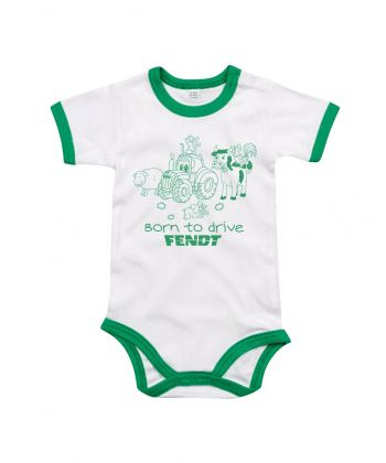 TS Baby Romper Fendt Born to Drive