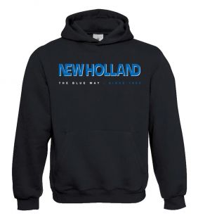NH Sweater Hooded Blue way