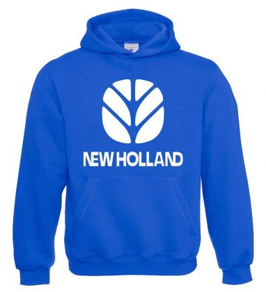 NH Sweater Hooded Royalblue Kids