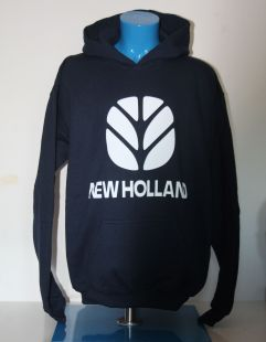 New Holland  Sweater Hooded Kids Royal