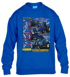 Forrester Sweater Crew Kinder royal