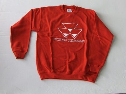MF kinder sweater crew rood