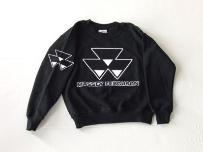 MF sweater crew zwart