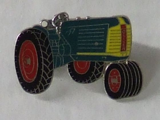 Oliver pin tractor