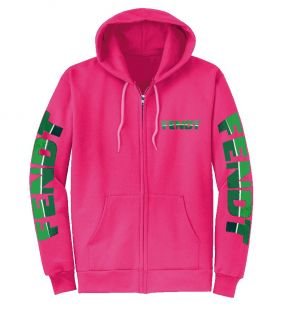 Fendt Zipper Borduur  Pink volwassenen
