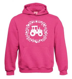 Fendt sweater hooded pink kids