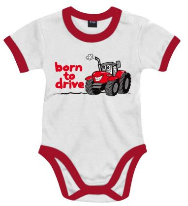 TS Baby Romper Born to Drive