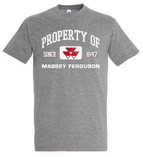 TS Heren T-shirt MF Property  Grijs