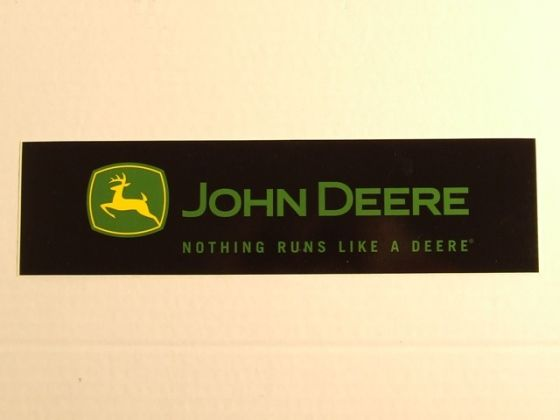 JD sticker logo zwart