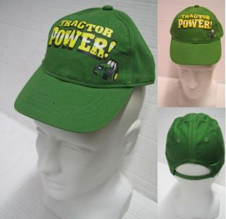 JD kids cap tractor power