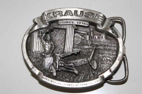 Belt Buckle Krause since 1916