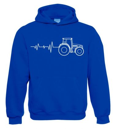 TS Sweater Hooded Tractor Pulse