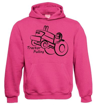 TS Sweater Hooded Tractor Pulling
