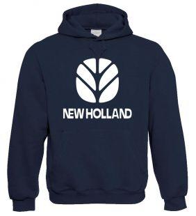 New Holland Kinder  Sweater Hooded navy
