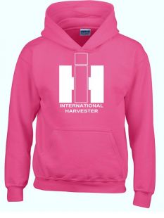 IH sweater hooded pink Volwassenen