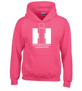 IH sweater hooded pink kids
