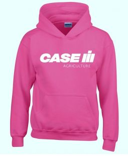 Case sweater hooded pink volwassenen