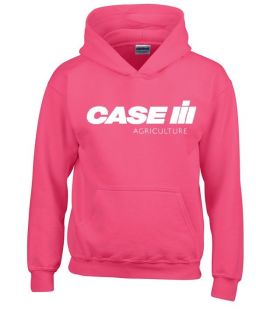 Case Kinder Sweater Hooded Pink