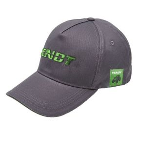 Fendt cap grey/green logo