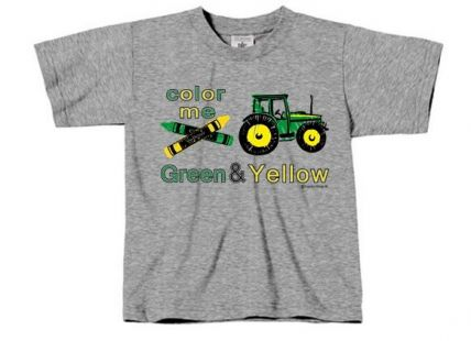TS Color me Green & Yellow