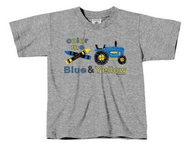 TS Color me Blue & Yellow