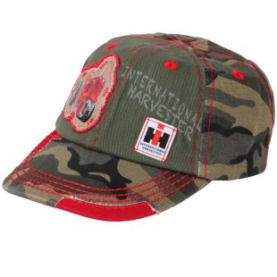IH kids camouflage cap red conner
