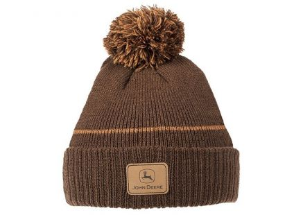 JD muts brown knitted beanie