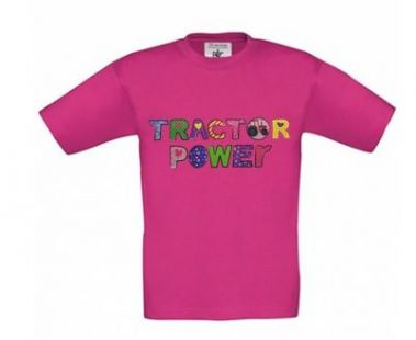 TS Tractor power red grey
