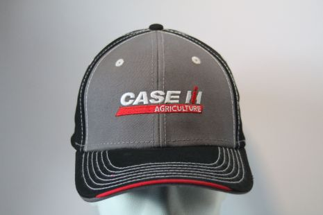 Case cap Black and grey with logo