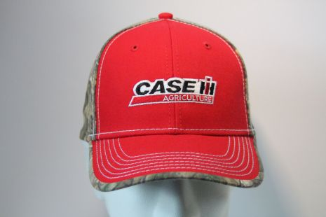 Case cap Camo black/red logo