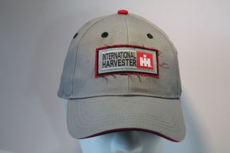 IH cap denim with logo