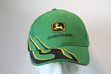 JD cap yellow, green, grey